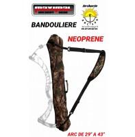 Maximal bandoulière néoprène porte arc camo