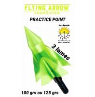 Flying arrow lame pratice point (pack de 3)