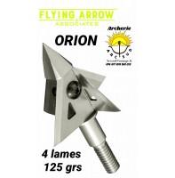 Flying arrow lame orion 125 grs (pack de 3)