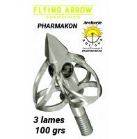 Flying arrow lame pharmakon (pack de 3)