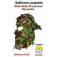 Quik-Camo casquette kloak ghilly 3d ref 9v24