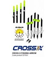 Cross x flèches de pêche 53t001
