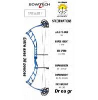 Bowtech arc à poulie spécialist II version 2020