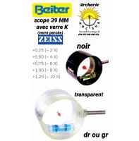 Beiter scope 39 verre percée k