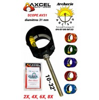Axcel scope av 31 avec verre