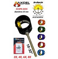 Axcel scope av 25 avec verre