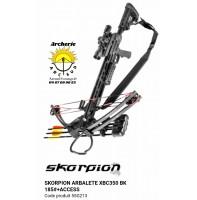 Skorpion arbalète xbc 350 noir avec accessoires 55g213
