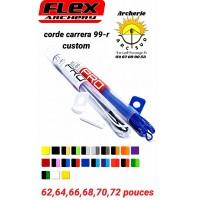 Flex archery cordes carrera 99r custom