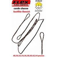 Flex archery cordes chasse fastflite flemich