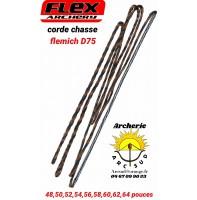 Flex archery cordes chasse flemish D 75