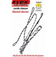 Flex archery cordes chasse flemish dacron