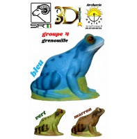 3di bêtes 3d grenouille