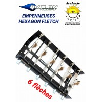 Avalon empenneuse hexagon flech 6 pinces