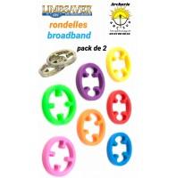 Limbsaver rondelles broadband (pack de 2)