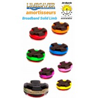 Limbsaver amortisseur broadband solid limb (pack de 2)