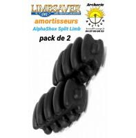 Limbsaver amortiseur alphashox Split limb (pack de 2)