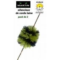 Martin silencieux de corde laine