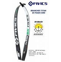 Fivics branches titan ex foam core