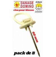 Danage clou pour blason (pack de 8)