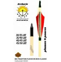 Big tradition flèches bois classic 53g261 (par 12)