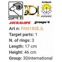 3di bêtes 3d pack jackalope