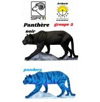 Srt bêtes 3D panthère