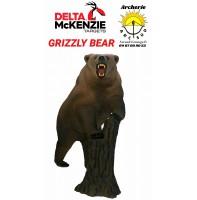Delta mckenzie bêtes 3d grizzly bear