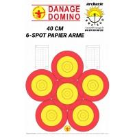 Danage blasons 40 cm 6 spots