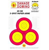 Danage blasons 40 cm 3 spots