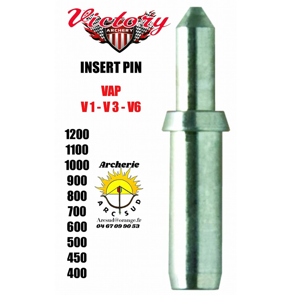 Victory insert pin vap