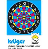 Kruger blason loisir fléchettes 53e664