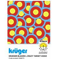 Kruger blason loisir Crazy target 53n073