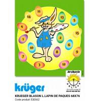 Kruger blason loisir lapin de pâques 53e662