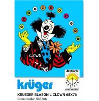 Kruger blason loisir clown 53e666