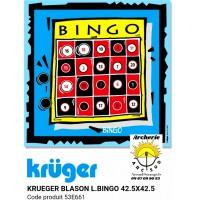 Kruger blason loisir bingo 53e661