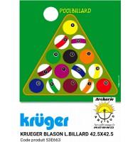 Kruger blason loisir billard 53e663