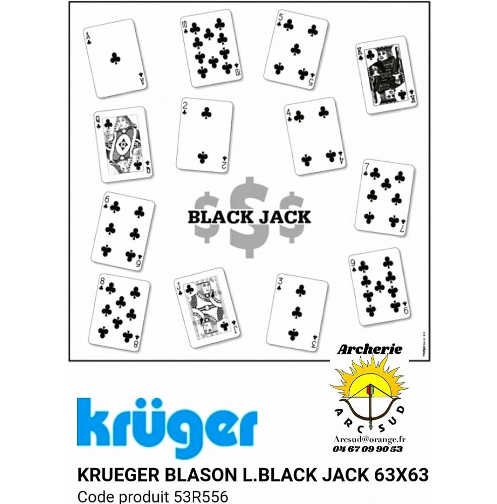 Kruger blason loisir black jack 53r556