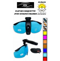 Shootoff clip lunette de casquette avec ecran coloris