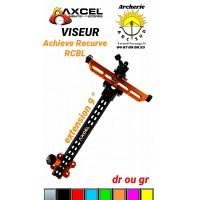 Axcel viseur achieve carbon recurve rcbl