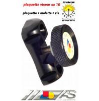 Arc système plaquette et mollette viseur sx 10 ref sx042