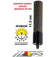 Arc système extension carbone amortie 11.5 cm ref c1.407