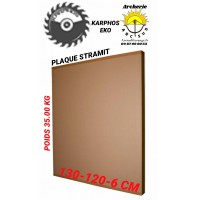 Karphos eko Plaque stramit 130 x 120 cm