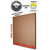 Karphos eko Plaque stramit 125  x 120 cm