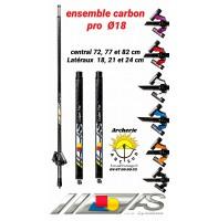 Arc système stab ensemble carbon pro ref c1.630