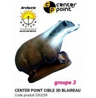 c point cible 3d blaireau 53u259