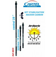 Cartel set stabilisation maxion carbon ref 4b29