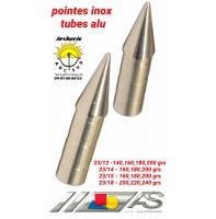 Arc système pointe inox tubes alu ref f.2 317