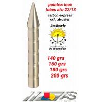 Arc système pointes inox alu 2213 cxl / xbuster f2.316