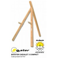 Booster chevalet bois 3 pieds compact 537767