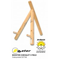 Booster chevalet bois 3 pieds field 537768